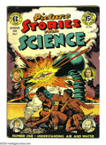 Golden Age (1938-1955):Non-Fiction, Picture Stories from Science #1 and 2 Group (EC, 1947) Condition:Average VG/FN. This lot consists of both issues of the two...(Total: 2 Comic Books Item)