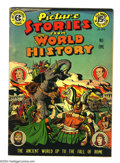 Golden Age (1938-1955):Non-Fiction, Picture Stories from World History #1 (EC, 1947) Condition: VF-.Overstreet 2003 VF 8.0 value = $178....