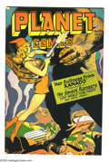 Golden Age (1938-1955):Science Fiction, Planet Comics #45 (Fiction House, 1946) Condition: FN+. MurphyAnderson, Bob Lubbers art. Overstreet 2003 FN 6.0 value = $23...