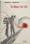 Books:First Editions, Robert A. Heinlein. The Menace From Earth....