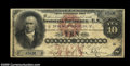 Large Size:Silver Certificates, Fr. 283 $10 1878 Silver Certificate Fine....
