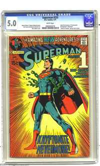 Superman #233 (DC, 1971) CGC VG/FN 5.0 White pages. Neal Adams cover. Curt Swan and Murphy Anderson art. Overstreet 2003...