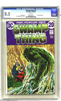 Bronze Age (1970-1979):Horror, Swamp Thing #1 (DC, 1972) CGC VF+ 8.5 White pages. Bernie Wrightsoncover and art. Overstreet 2003 NM 9.0 value = $89; NM 9....