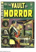 Golden Age (1938-1955):Horror, Vault of Horror #18 (EC, 1951) Condition: VG+. Art by Johnny Craig,Jack Davis, Jack Kamen, and Graham Ingels. Overstreet 20...