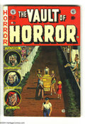 Golden Age (1938-1955):Horror, Vault of Horror #33 (EC, 1953) Condition: VG. Art by Reed Crandall,Jack Davis, George Evans, and Graham Ingels. Overstreet ...