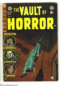 Golden Age (1938-1955):Horror, Vault of Horror #37 (EC, 1954) Condition: VG. First appearance ofDrusilla. Art by Johnny Craig, Jack Davis, Al Williamson, ...