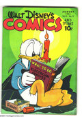 Golden Age (1938-1955):Funny Animal, Walt Disney's Comics and Stories #59 (Dell, 1945) Condition: FN+.Carl Barks art. Overstreet 2003 FN 6.0 value = $75. ...