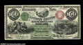 Large Size:Interest Bearing Notes, Fr. 204 $100 1863 Interest Bearing Note Choice Very Fine....