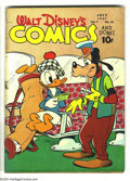 Golden Age (1938-1955):Funny Animal, Walt Disney's Comics and Stories #82 (Dell, 1947) Condition: GD+.Overstreet 2003 GD 2.0 value = $14. ...