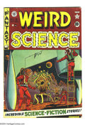Golden Age (1938-1955):Science Fiction, Weird Science #8 (EC, 1951) Condition: GD. Art by Al Feldstein,George Roussos, Jack Kamen, and Wally Wood. Overstreet 2003 ...