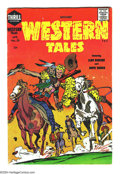 Golden Age (1938-1955):Western, Witches' Western Tales #30 (Harvey, 1955) Condition: VG+. Last issue. Jack Kirby cover and art, Boys' Ranch reprint. Ove...