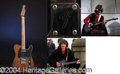 "Autographs, George Harrison's Historic Fender Telecaster from ""Let It Be"" andThe Apple Rooft"