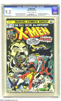 Bronze Age (1970-1979):Superhero, X-Men #94 (Marvel, 1975) CGC NM- 9.2 Off-white to white pages. NewX-Men begin, by Chris Claremont and Dave Cockrum. Sunfire...