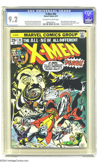X-Men #94 (Marvel, 1975) CGC NM- 9.2 Off-white to white pages. New X-Men begin, by Chris Claremont and Dave Cockrum. Sun...