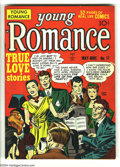Golden Age (1938-1955):Romance, Young Romance Comics #11 (Prize, 1949) Condition: FN+. Art by JoeSimon and Jack Kirby. Overstreet 2003 FN 6.0 value = $75....