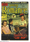 Golden Age (1938-1955):Romance, Young Romance Comics #35 (Prize, 1951) Condition: VG+. Photo cover.Art by Joe Simon and Jack Kirby. Overstreet 2003 VG 4.0 ...