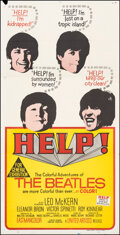 """Movie Posters:Rock and Roll, Help! (United Artists, 1965). Folded, Fine/Very Fine. Australian Three Sheet (41"""" X 80"""") Rock and Roll.. ..."""