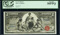 Large Size:Silver Certificates, Fr. 247 $2 1896 Silver Certificate PCGS Very Fine 30PPQ.. ...