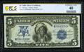 Fr. 278 $5 1899 Silver Certificate PCGS Banknote Extremely Fine 40