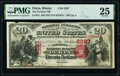 National Bank Notes:Illinois, Pekin, IL - $20 1875 Fr. 431 The Farmers National Bank Ch. # 2287 PMG Very Fine 25.. ...