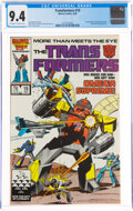 Modern Age (1980-Present):Science Fiction, Transformers #19 (Marvel, 1986) CGC NM 9.4 Off-white to white pages....