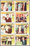 """Movie Posters:Rock and Roll, Love and Kisses (Universal, 1965). Fine/Very Fine. Lobby Card Set of 8 (11"""" X 14""""). Rock and Roll.. ... (Total: 8 Items)"""