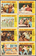 """Movie Posters:Rock and Roll, Rock, Pretty Baby (Universal International, 1957). Fine/Very Fine. Lobby Card Set of 8 (11"""" X 14""""). Rock and Roll.. ... (Total: 8 Items)"""