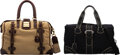 Luxury Accessories:Travel/Trunks, Tod's and Muholland Set of Two: Canvas Duffle Bags. Condition: 4. See Extended Condition Report for...