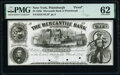 Obsoletes By State:New York, Plattsburgh, NY- Mercantile Bank of Plattsburgh $2 Mar. 4, 185_ as G4a Proof PMG Uncirculated 62.. ...