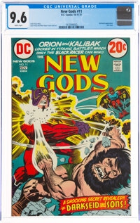 The New Gods #11 (DC, 1972) CGC NM+ 9.6 White pages
