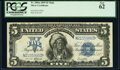 Large Size:Silver Certificates, Fr. 280 $5 1899 Mule Silver Certificate PCGS New 62.. ...