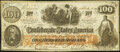 Confederate Notes:1862 Issues, CT41 Counterfeit $100 1862 Very Fine.. ...
