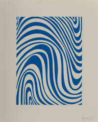Sol LeWitt (1928-2007) Irregular Bands (five works), 1995 Aquatints in colors on wove paper 10 x 7-1/2 inches (25.4 x...