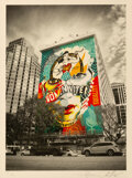 Prints & Multiples, Shepard Fairey X Sandra Chevrier. The Beauty of Liberty and Equality by Jon Furlong, 2020. Offset lithograph in colors o...
