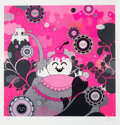 Prints & Multiples, Buff Monster (b. 1979). Hot Pink Explosion, 2010. Giclee print in colors on wove paper. 20-1/4 x 19-1/2 inches (51.4 x 4...
