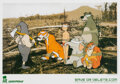 Prints & Multiples, After Banksy. Save or Delete - Greenpeace Print, 2002. Offset lithograph in colors on recycled paper. 16-1/2 x 23-3/8 in...