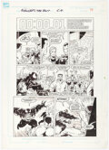 Original Comic Art:Story Page, Ron Lim, Jim Sanders, and Fred Fredricks Avengers: Death Trap, The Vault Story Page 51 Original Art (Marvel, 1991)...