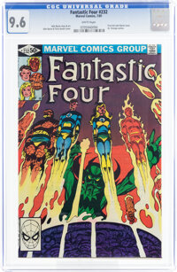 Fantastic Four #232 (Marvel, 1981) CGC NM+ 9.6 White pages