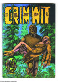 Bronze Age (1970-1979):Alternative/Underground, Grim Wit #1 (Last Gasp, 1972) Condition: NM. Art by Richard Corben. First printing, by Rip-Off Press. Listed in the 2000 Com...
