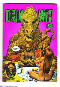 Grim Wit #2 (Last Gasp, 1973) Condition: NM-. Art by Richard Corben and Jack Jackson (Jaxon). Full color; only one print...