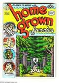 Modern Age (1980-Present):Alternative/Underground, Home Grown Funnies #nn (Kitchen Sink, 1971) Condition: VF. Firstprinting. All Robert Crumb art. Listed in the 2000 Comic Ar...