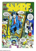 """Bronze Age (1970-1979):Alternative/Underground, Snarf Issues #3 and 6 Group (Kitchen Sink, 1973-75). Issue #3 features a Will Eisner """"Spirit"""" cover and interiors by Denis K... (Total: 2 Comic Books Item)"""