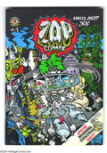 Silver Age (1956-1969):Alternative/Underground, Zap Comix #5 (Apex Novelties, 1970) Condition: VF/NM. Firstprinting. Art by Robert Crumb, Victor Moscoso, S. Clay Wilson, a...