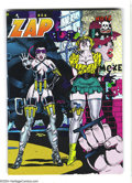 Modern Age (1980-Present):Alternative/Underground, Zap Comix #12 (Apex Novelties, 1989) Condition: VF/NM. Autographedby Victor Moscoso in pencil on 31. Art by Robert Crumb, S...