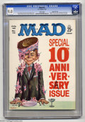 Magazines:Mad, Mad #72 Gaines File pedigree (EC, 1962) CGC VF/NM 9.0 White pages.Kelly Freas cover. Mort Drucker, Wally Wood, Dave Berg, a...