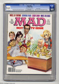 Magazines:Mad, Mad #266 Gaines File pedigree (EC, 1986) CGC VF/NM 9.0 Off-white towhite pages. Mort Drucker, Don Martin, Dave Berg, and Wi...