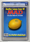 """Magazines:Mad, Mad #279 Gaines File pedigree (EC, 1988) CGC VF+ 8.5 White pages. James Warhola """"scratch and sniff"""" cover. Mort Drucker, Ang..."""