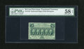 Fractional Currency:First Issue, Fr. 1310 50c First Issue PMG Choice About Unc 58 EPQ....