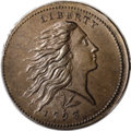 Large Cents, 1793 1C Wreath Cent--Lettered Edge-- MS64 Brown PCGS....