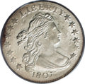 Early Dimes, 1807 10C MS62 PCGS....